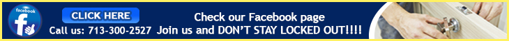 Join us on Facebook - Locksmith South Houston